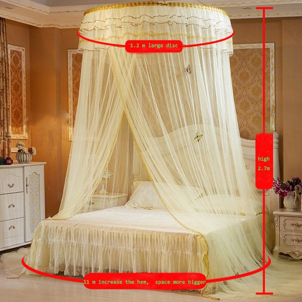 LARGE ROUND NET (CREAM)