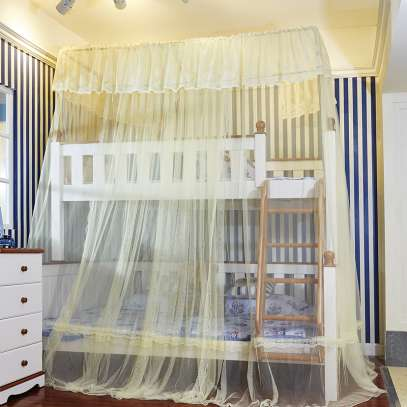 DOUBLE DECKER MOSQUITO NET(CREAM)