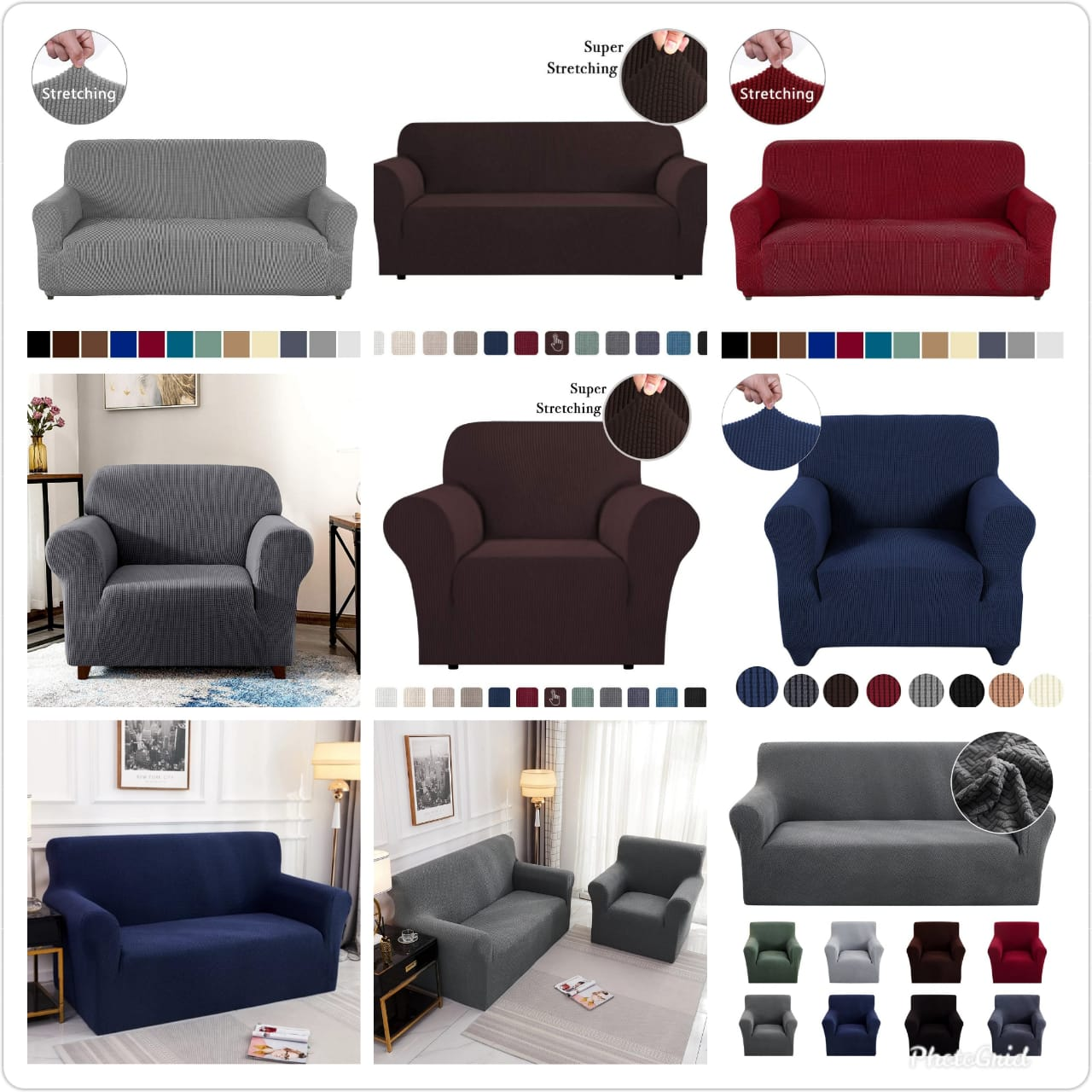 Luxurious Seat Covers(3:2)5 Seater