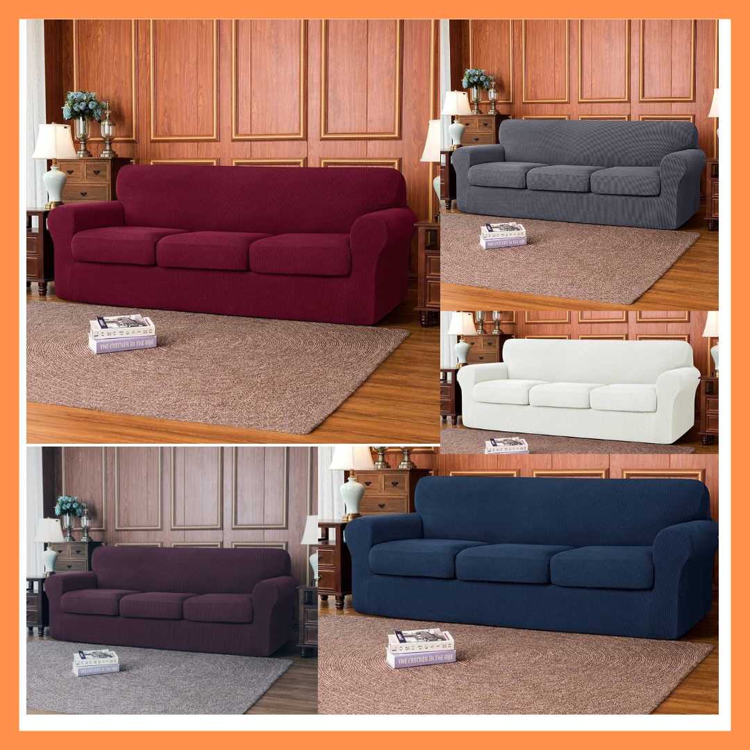 Luxurious Seat Covers(3:2:1:1)7 Seater