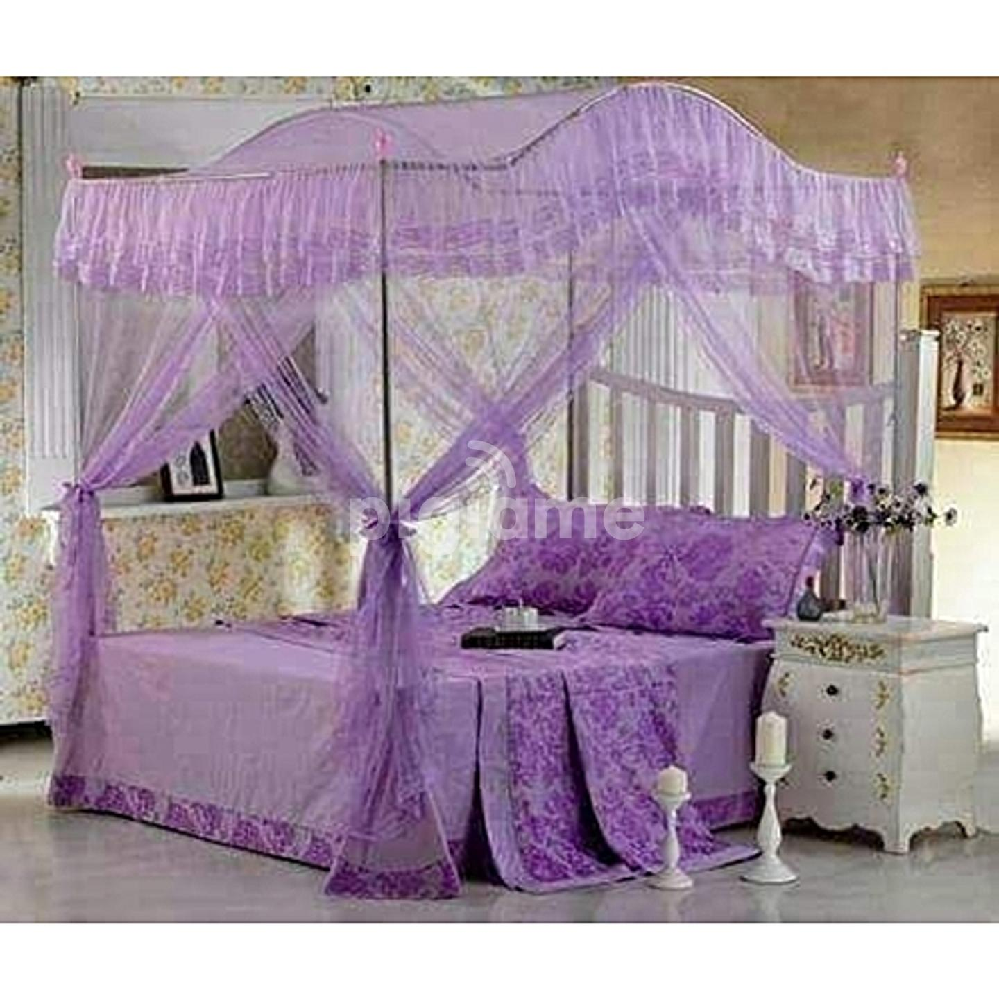 Curved Canopy Net (Purple)