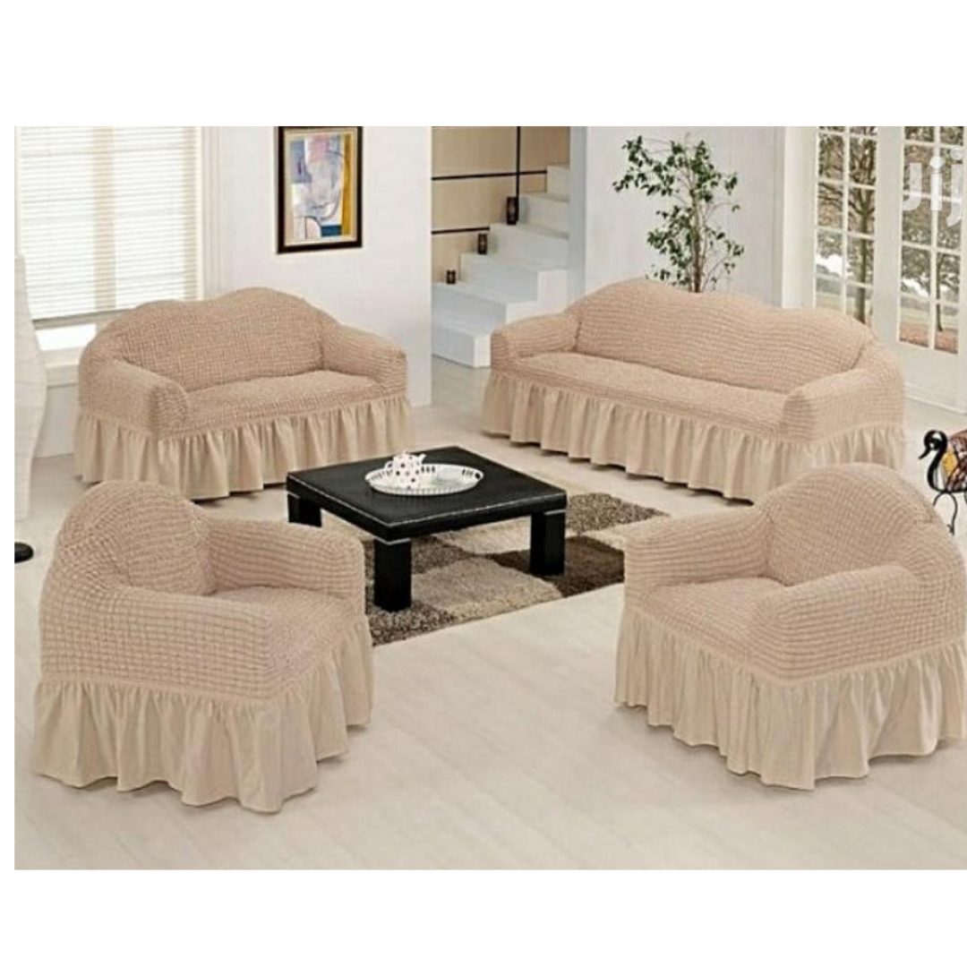 Stretchable Loose Cover(3:2:1:1 Beige)